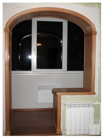 Дверной проем на балконе как сделать